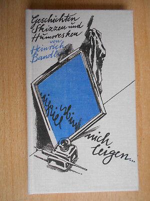 Bandlow , Heinrich nich leigen Geschichten,Skizzen / De lütt Bökerie Jastram
