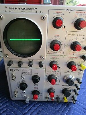 Tektronix Type 545b Oscilloscope Vintage - Used