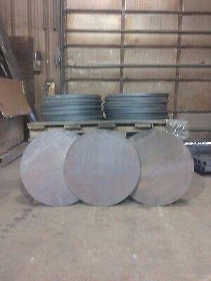 "Disc Shaped 300pcs Round 4/"" Diameter 1//8/"" Steel Plate .125 A36 Steel"