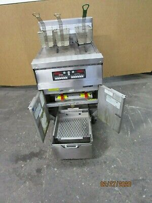 Frymaster Fph7 Fph114 36x24x30-12 2 Bank 3 Basket Electric Deep Fryer 208v