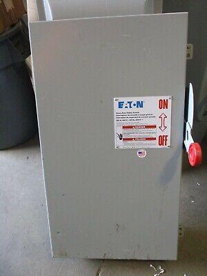 Cutler Hammer Dh364fgk 200 Amp 600 Volt 3p3w Fusible Disconnect -warranty