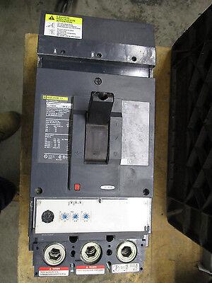 Square D Lja36600u33x 600 Amp 600 Volt Circuit Breaker- Recon W Test Report