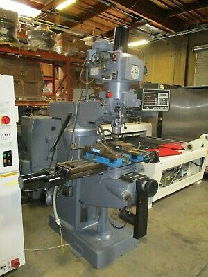 Lagun Cnc Mill Prototrak Power Draw Bar Loads Of Tooling