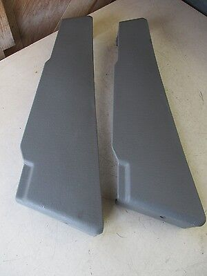 CHRYSLER TOWN COUNTRY CARAVAN LF SEAT BEZEL TRIM COVERS SLATE 05 06 07 08