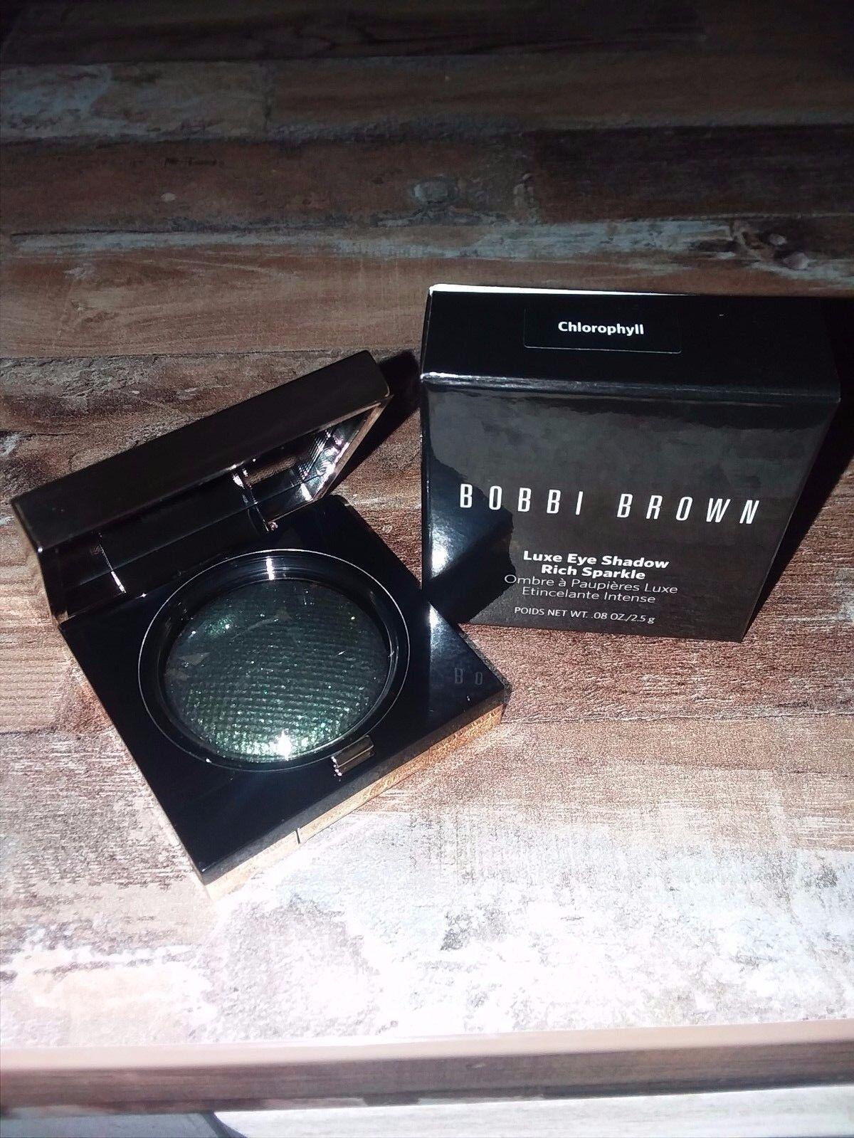 NIB New Bobbi Brown Luxe Eye Shadow Shimmer .08 oz Rich Lust