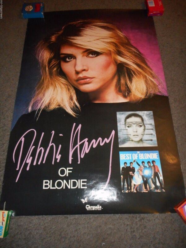 DEBBIE HARRY - ORIGINAL SS PROMO POSTER