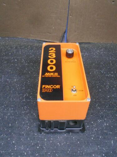 FINCOR INCOM 2300 MODEL 2301 MKII DC MOTOR CONTROL