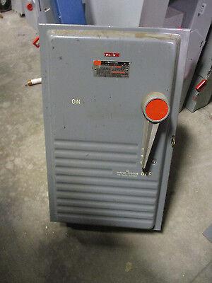 Fpe 1236snr 200 Amp 600 Volt Nema 1 Fusible Disconnect