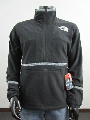 NWT Mens TNF The North Face 92 Rage Retro PO Fleece Jacket Anorak - Black
