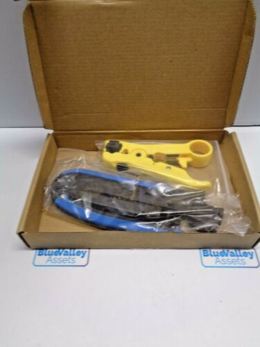 COAX CABLE CRIMPER KIT, NEW