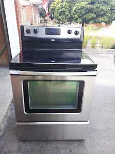 Whirlpool stainless steel stove, free delivery