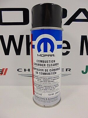 Combustion Cleaner - New Combustion Chamber Cleaner 13oz Aerosol Can Mopar Factory Oem