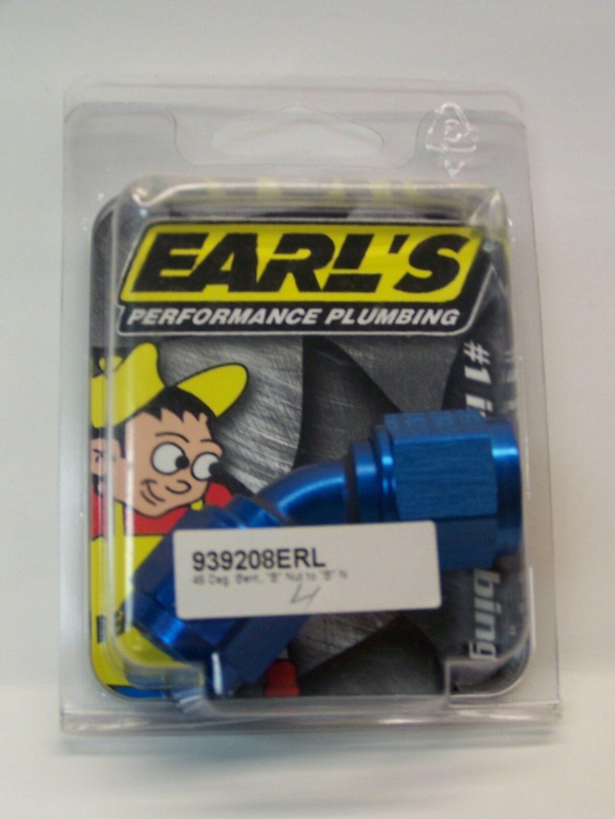 EARLS 45 DEG -8 NUT TO -8 NUT #939208