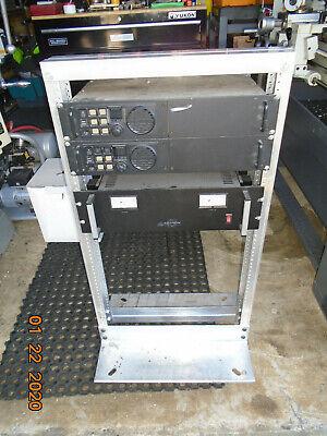 Two Vertex Vxr-9000 Repeater Base Station Uhf 450 - 480 W 3 Ida Tone Remotes