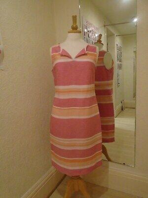Sea Green-stripe (Pomodoro Miami Pink OR Sea Green Stripe Dress 11906 *2 Colours*)