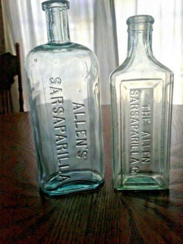 Antique near mint bluish aqua~Allen