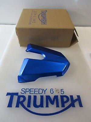 TRIUMPH STREET TRIPLE & R REAR SEAT COWL CARIBBEAN BLUE A9708271 JV 2013 - 2017