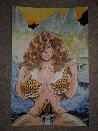 Durham CAVEWOMAN RECOVERY 1 COVER - SUPER SEXY MERIEM COVER NICE CHEESECAKE