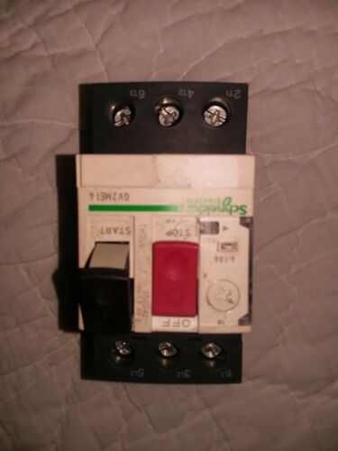 Schneider Electric GV2ME14 Manual Push Button Motor Starters (lot of 2)