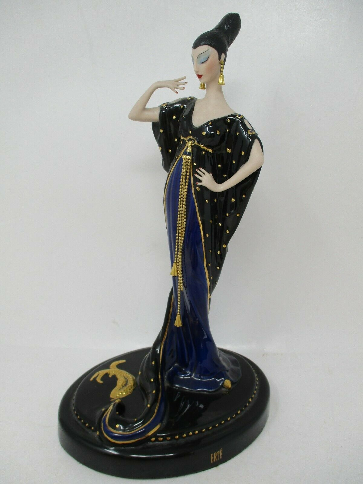 House Of Erte Moonlight Mystique Porcelain Figurine Limited Edition