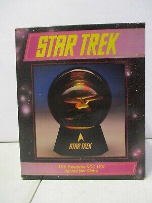 1992 Star Trek USS Enterprise NCC-1701 Lighted Star Globe