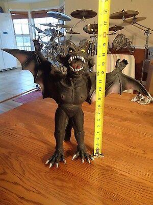 "Vintage Giant Large 15"" Latex Rubber Bendy Vampire Bat Halloween Prop"
