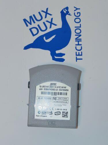 HP J6039C JetDirect 200m 10/100Mbps Ethernet Lio Print Server
