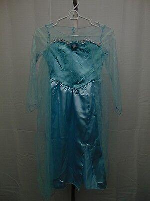 Disney Frozen Girl's Elsa Halloween Dress-Up Costume Dress Only Medium 7-8 - Elsa Kostüm Medium
