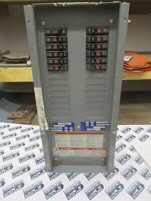 Square D Nqod430l100 100 Amp 3 Phase 120208v Panelboard Interior- E2356- New