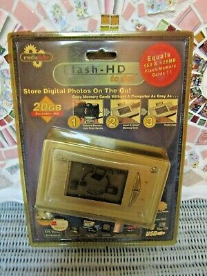 >>> YOU FOUND THE BEST >>>NEW SEALED MEDIA GEAR FLASH HARD DRIVE