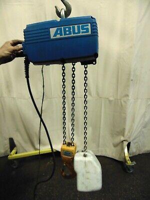 Abus Electric Chain Hoist Fall Lift 3 Phase 50 Hz