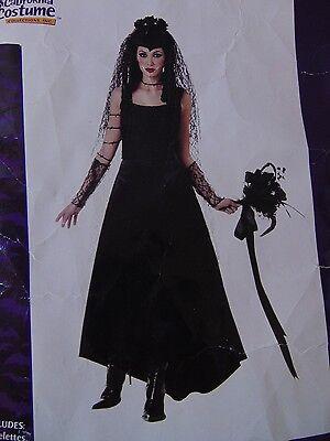 Dark Gothic Bride Women's Halloween Cosplay Costume Small No Barbwire #1253](Gothic Bride Halloween Costume)