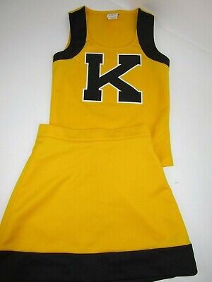 Child Cheerleader Uniform Outfit Costume Yth M S 28