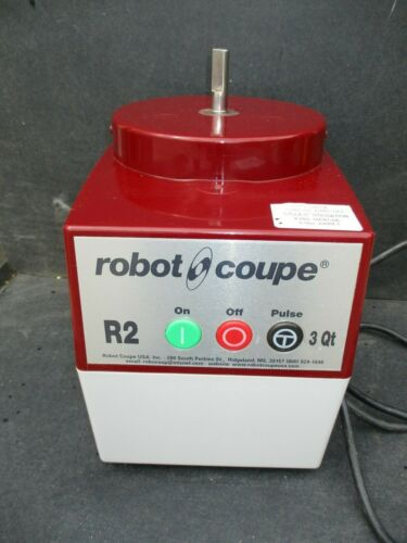 ROBOT COUPE R2C / BASE ONLY / FOOD PROCESSOR >>$365<<  FREE SHIPPING