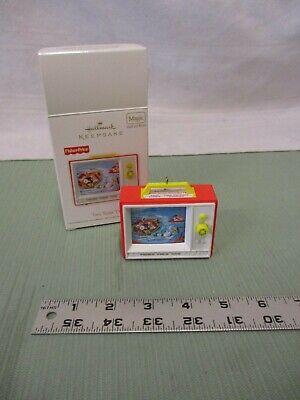2012 Hallmark Keepsake Ornament Fisher Price Two Tune TV Christmas Tree Holiday
