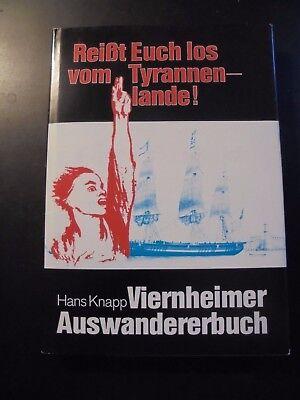 "Knapp:"" Viernheimer Auswandererbuch"" (Sippen,Familiengeschichte,Viernheim)"