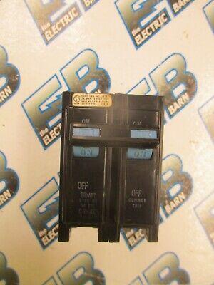 Bryant Br215 15 Amp 240 Volt 2 Pole Circuit Breaker- Warranty