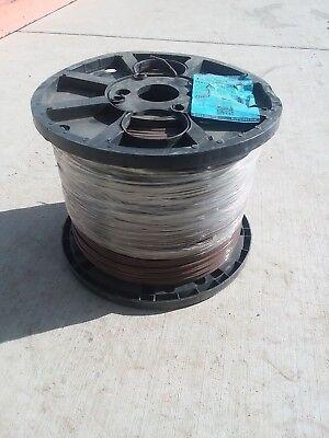 Brown 2500 ft. Super slick 12 Gauge STR, CU THHN Building Electrical Wire