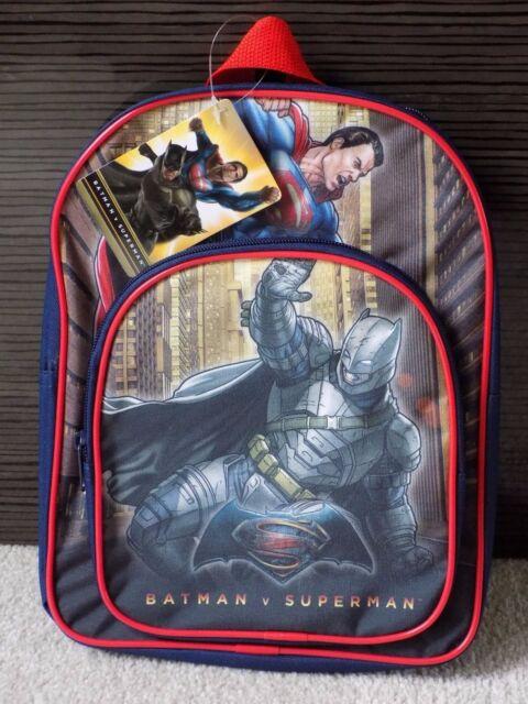 Batman V Superman Kids/Boys School Bag, Backpack, Rucksack, Adjustable Straps