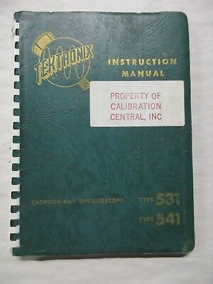 Tektronix Cathode-ray Oscilloscope Type 531 541 Instruction Manual 070-203