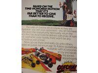 Original Paint Ball War Guns 1987 GOTCHA! VINTAGE MAGAZINE AD The Sport