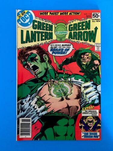 GREEN LANTERN #110 DC COMICS 1978 NM  FEAT. GREEN ARROW