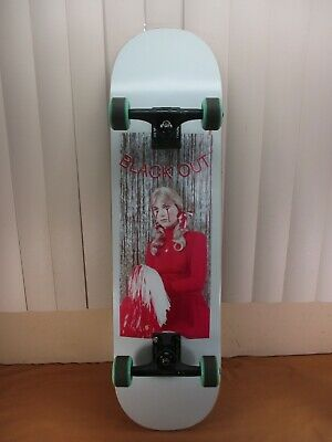 "Blackout Cheerleader 8.38"" Complete Skateboard Deck Thunder Trucks 54mm Orbs"