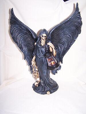 Grim Reaper - Tod - mit Flügel, Laterne - Schädel Und Flügel