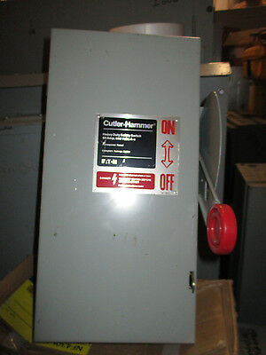 Cutler Hammer DH362UGK 60 Amp 600 Volt Disconnect