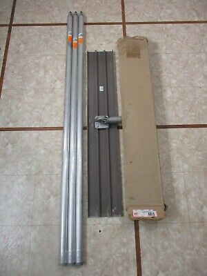 Qlt By Marshalltown Magnesium Bull Float Square End 48 X 8 W 18 Ft Of Handles