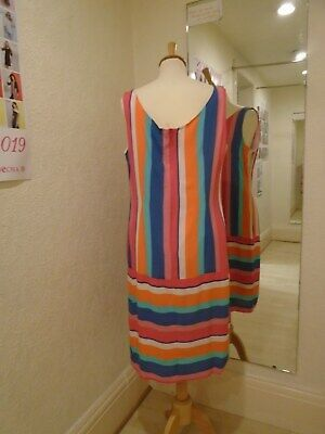 Pomodoro CANDY STRIPE Shift  Dress 11912 Stripe Shift