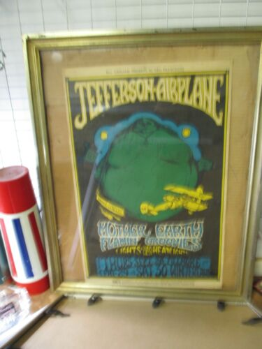 Winterland 1967 Jefferson Airplane, Mother Earth, Flamin' Groovies Poster #85