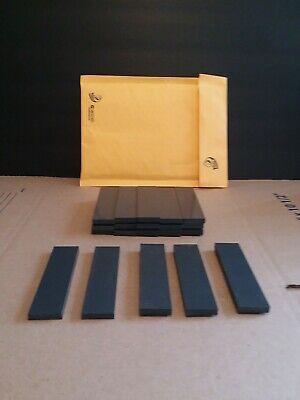 Black Plastic Delrin Acetal Sheetblock Lot 40 Pieces