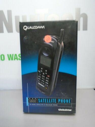 Qualcomm Globalstar GSP-1600 Tri-Mode Portable Satellite Phone + AC Adapter